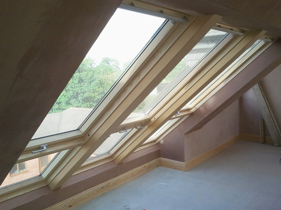 Loft Conversion With Velux Windows Designaloft Com